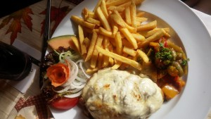 Steak au Four mit Pommes Frites